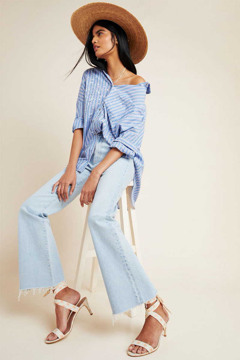 Anthropologie CQY Bliss High Rise Bootcut Jeans