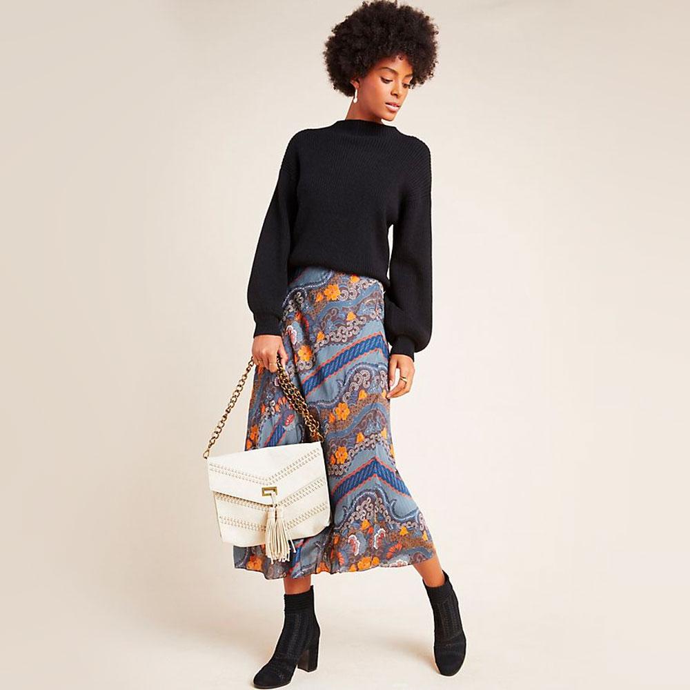 Fashion Trend - Slip Skirts