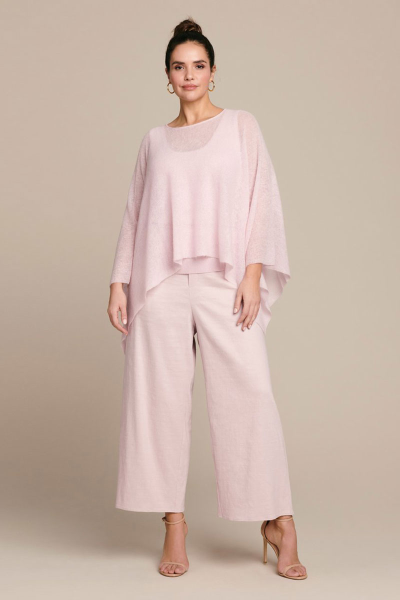 SALLY LAPOINTE Featherweight Mohair Cape
