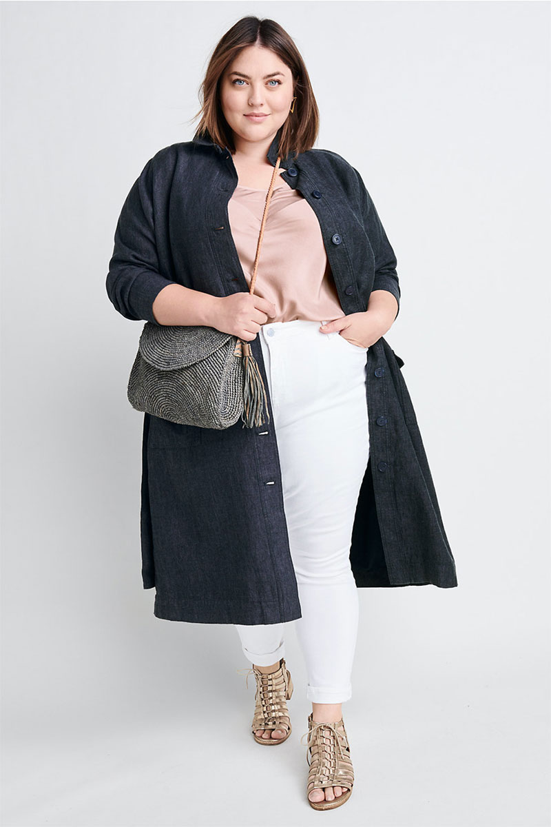 Ryllace Linen Belted Duster