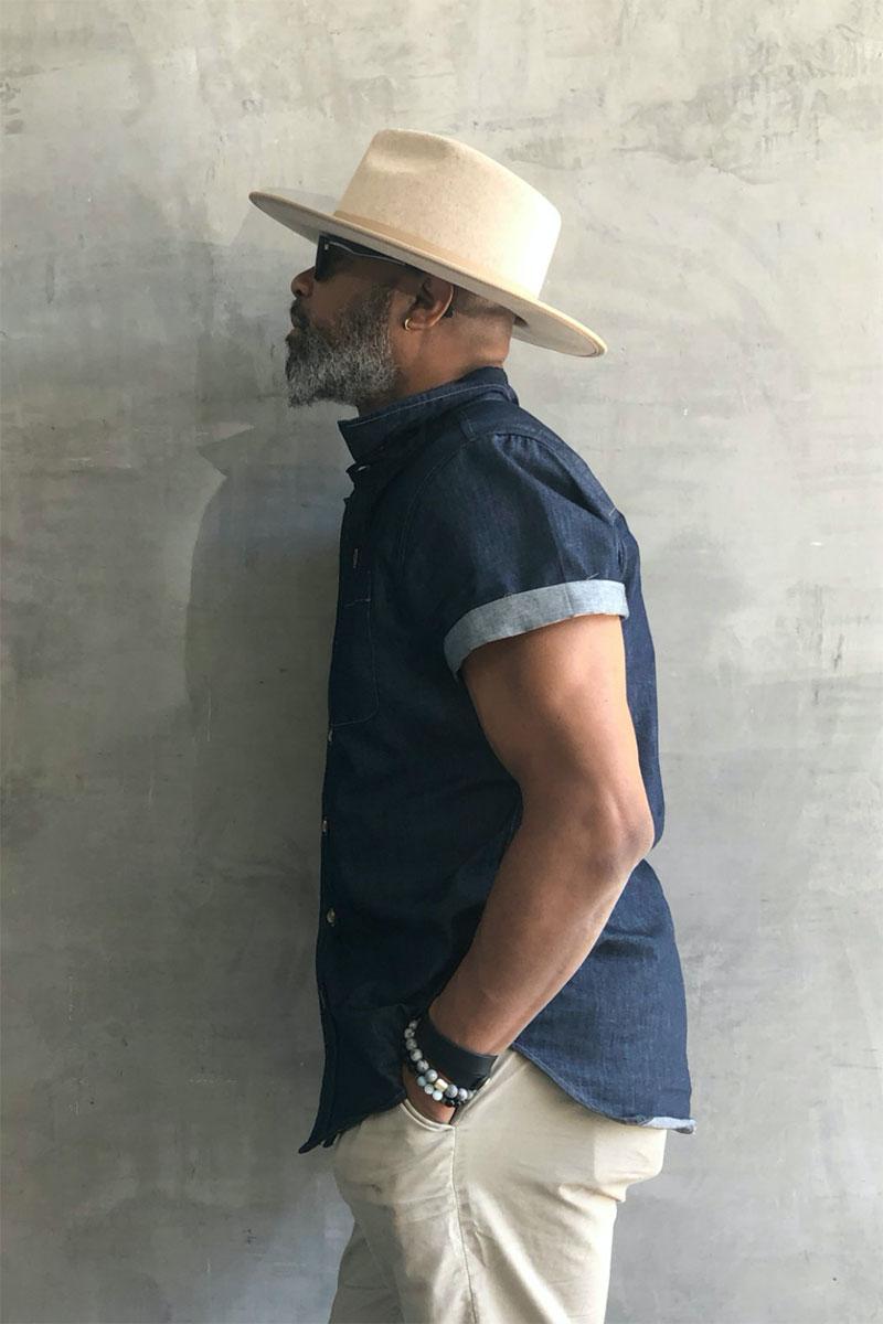 Ecovibe Astoria Stiff Brim Panama Hat