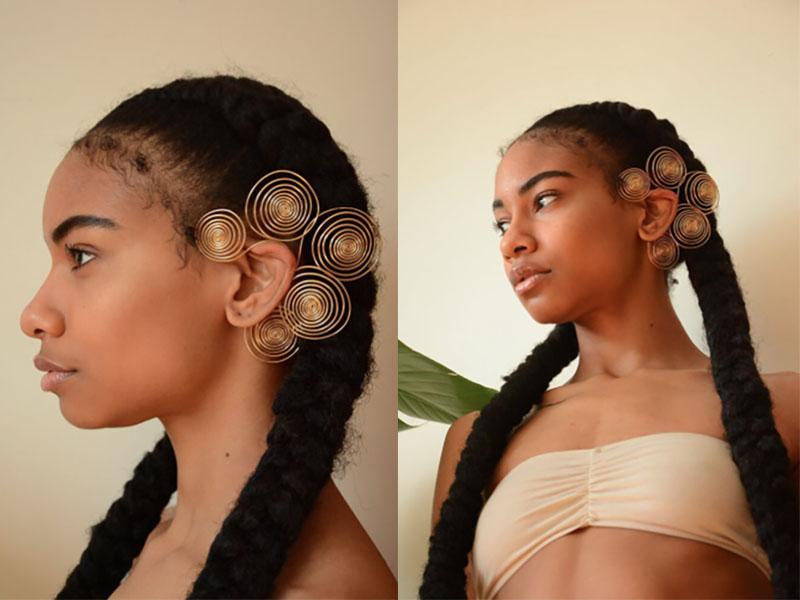 Beads Byaree Flora Ear Cuff