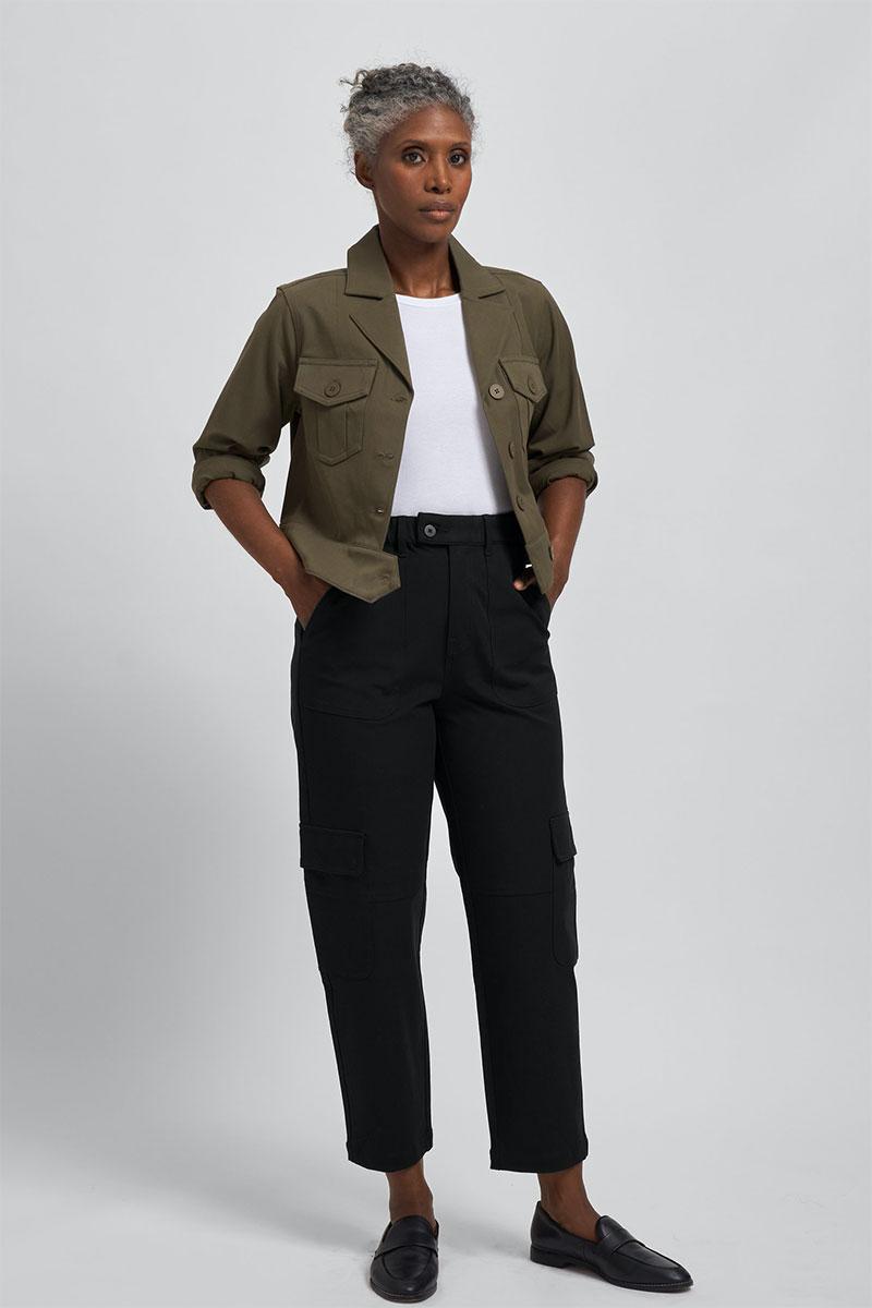 Universal Standard Karlee Twill Cargo Pants
