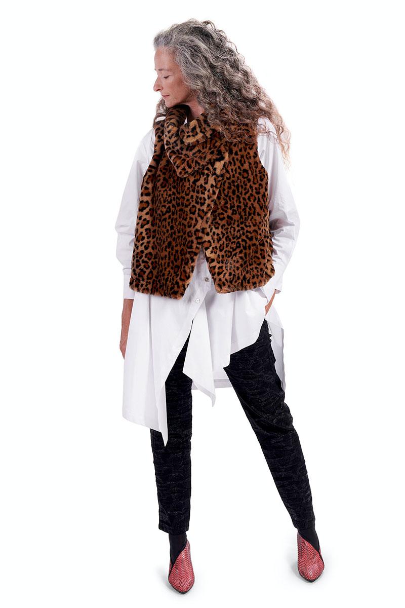 Alembika Leopard Vest