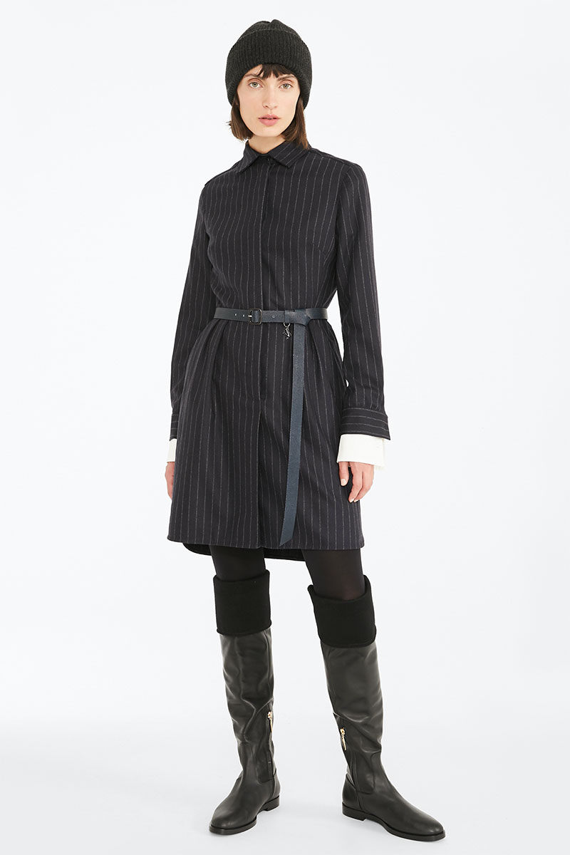MaxMara Cashmere and Wool Flannel