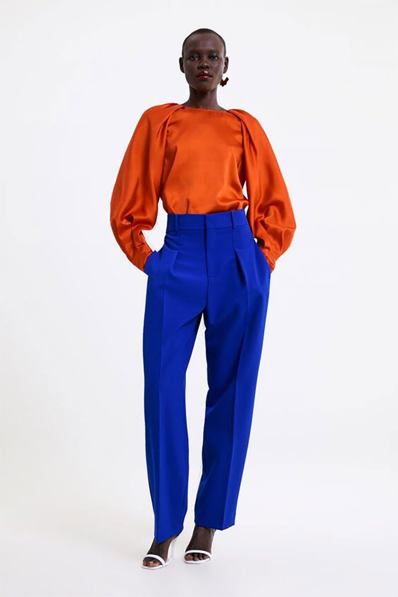 Zara Pleated Pants
