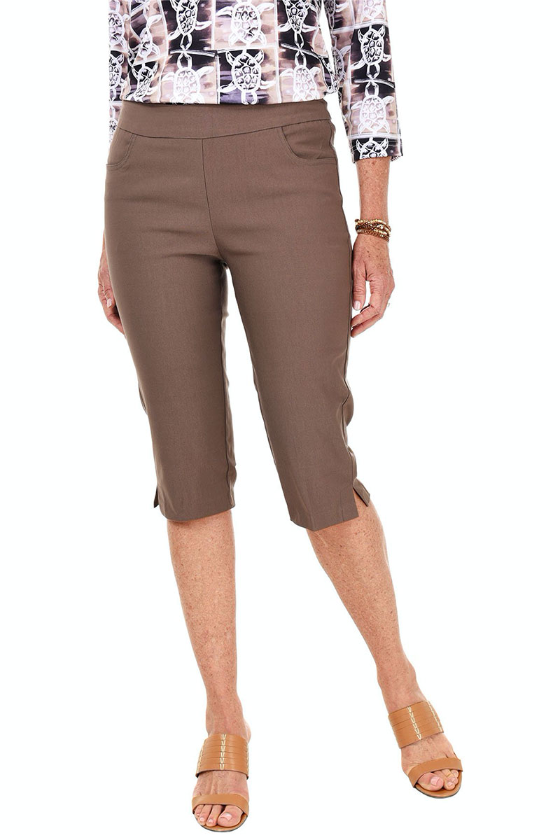Anthony's Pull-On Clamdigger Crop Pant