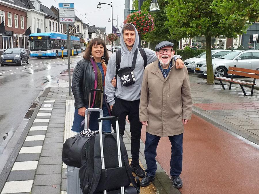 Jaap, Keri and Sebs