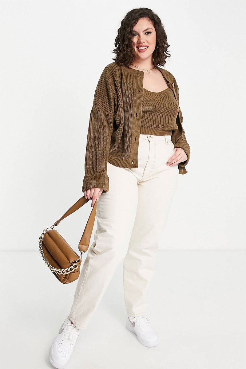 White Jeans and Brown
