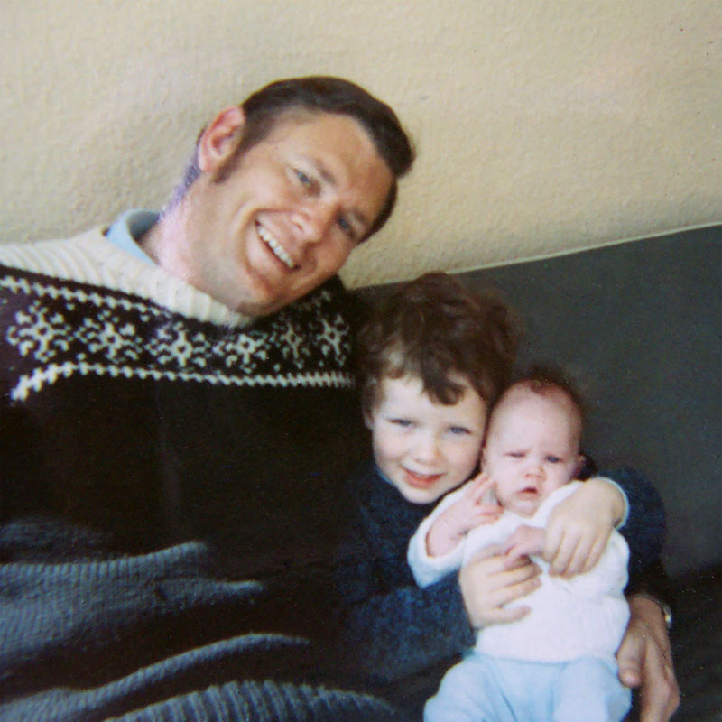 Dad, Greg and Gail
