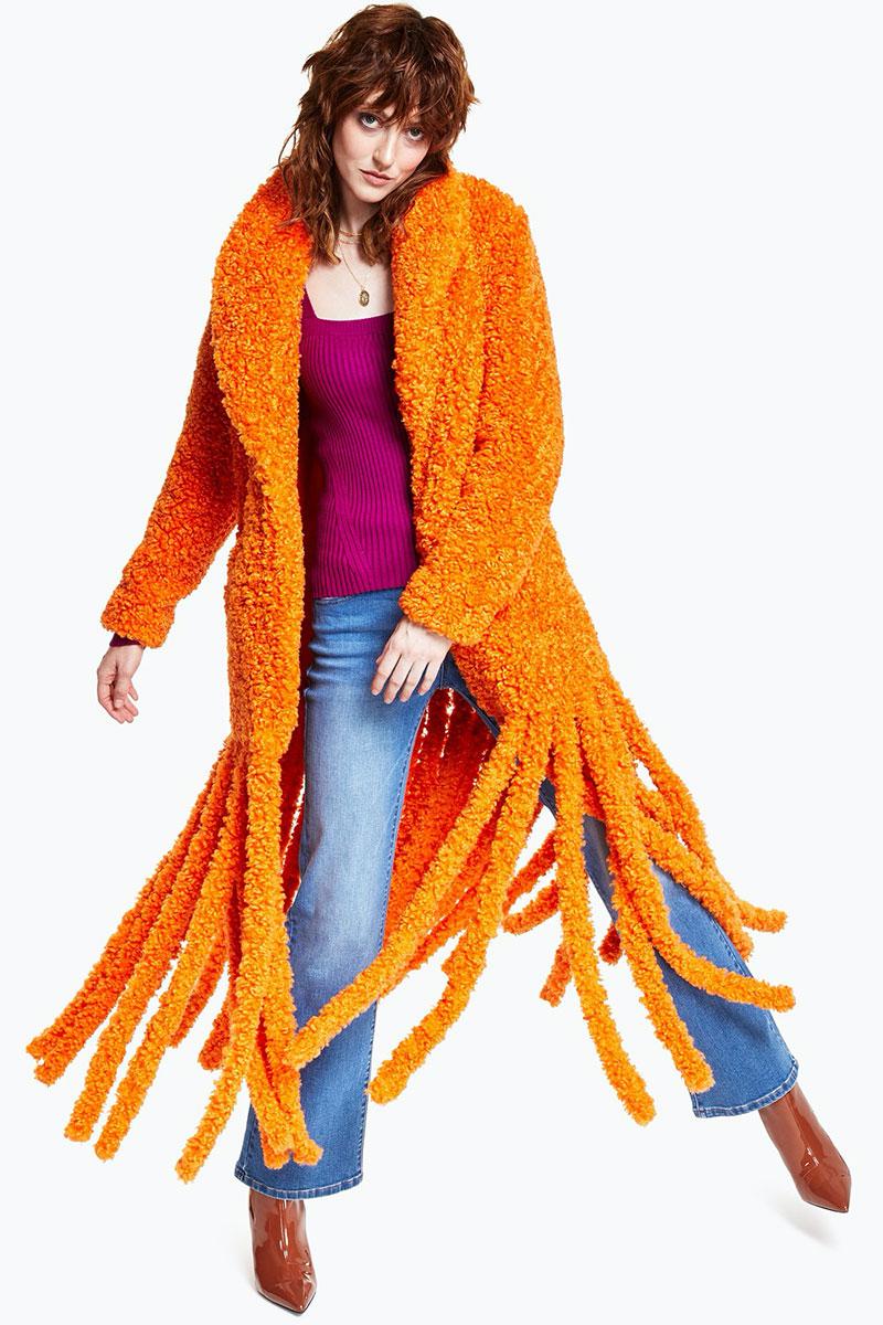 Shocking Orange and Fuchsia