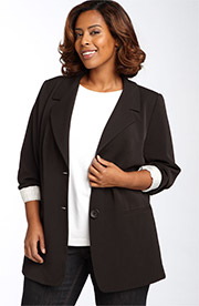 Find great deals on eBay for Plus Size Boyfriend Blazer in Women's Suits, Blazers and Accessories. Shop with confidence. Find great deals on eBay for Plus Size Boyfriend Blazer in Women's Suits, Blazers and Accessories. Diane Gilman ponte boyfriend blazer size 1X. Fabric Content: Body- 68% rayon, 27% nylon, 5% spandex. Lining- 95% polyester.