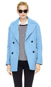 Collection Blue Wool Coat Pictures - Reikian