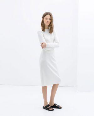 Pencil Skirt Wedding Dress 56 Fabulous Zara