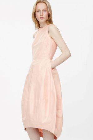 Galerry flared poplin dress cos