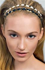 Chain Link Ribbon Headband
