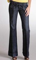 Arden B. Wide Leg Denim Trousers