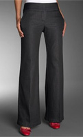 Nordstrom Wardrobe Wide Leg Stretch Denim Pants