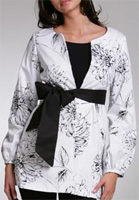 Etched Posie Trench Coat