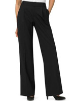 Lightweight wool wide-leg pant