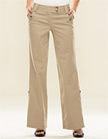 Supreme Sateen Button Pocket Lindsay Straight Pant