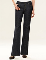 Denim 5 Pocket Modern Lindsay Bootleg Jean