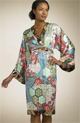 Single Dress Long Sleeve Kimono Dress