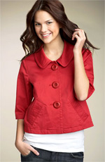 Sashimi Three Button Swing Jacket
