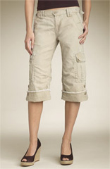 Lucky Brand 'Tyler' Convertible Crop Pants