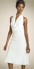 Cowl Neck Knit Dress