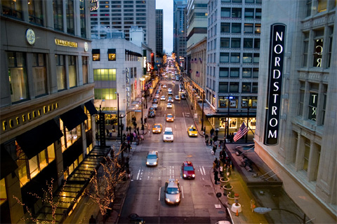 Nordstrom in Downtown Seattle