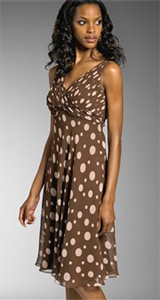 Anne Klein Dress Polka Dot Dress