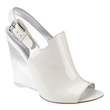 Tobago Lucite Wedge Sandal