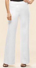 Stretch Viscose Margo Wide Leg Pants