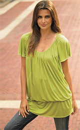 Dropwaist Tunic Top