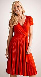Donna Morgan Matte Jersey Wrap Dress