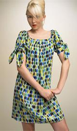 Nanette Lepore Print Shift Dress