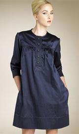 Tufi Duek Satin Shift Dress