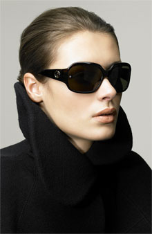 Giorgio Armani Classic Rectangle Sunglasses