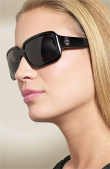 Juicy Couture 'Country Club 2' Square Frame Sunglasses