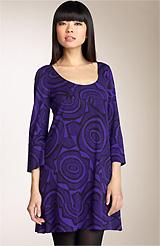 Diane von Furstenberg 'Laetitia' Silk Jersey Tunic