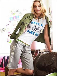 Victoria's Secret PINK® Long Sweatshort