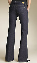 Paige Premium Denim 'Hollywood Hills' Bootcut Stretch Jeans (Dark Resin Wash)