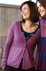 Drapey V-neck Cardigan