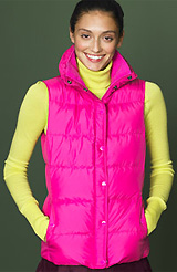 Goosedown Puffer Vest