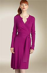 Diane von Furstenberg 'Huelva' Cashmere Dress