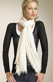 Nordstrom Two Tone Cashmere Wrap