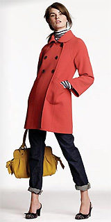 Double-Cloth Town Coat