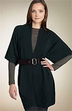 Anne Klein New York Belt Kimono Sweater Jacket