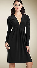 Norma Kamali 'Greta' Long Sleeve Dress